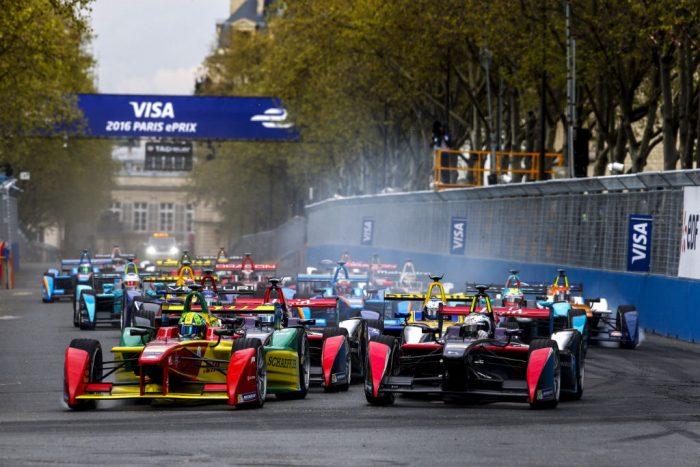 Formula E - Paris - Start