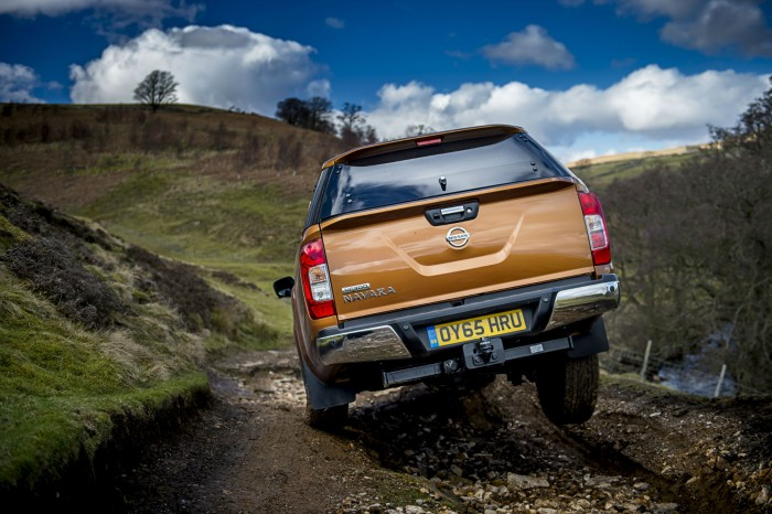 Nissan Navara NP300 Automatic Review - Green Lane Action Rear - carwitter