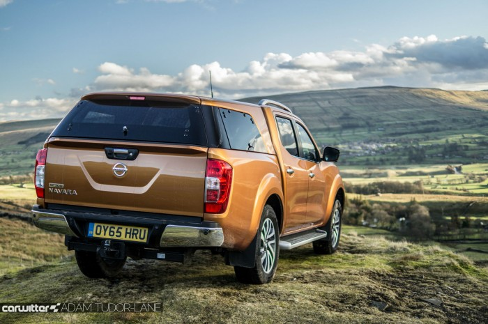 Nissan Navara NP300 Automatic Review - Rear - carwitter
