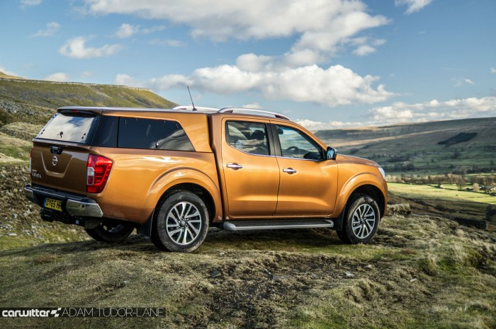 Nissan Navara NP300 Automatic Review - Side Close - carwitter