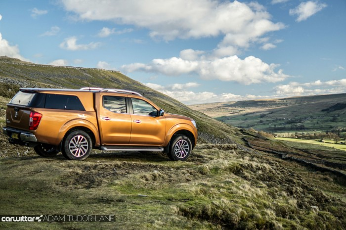 Nissan Navara NP300 Automatic Review - Side Scene Far - carwitter
