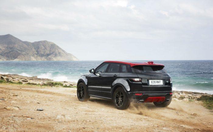 Range Rover Evoque Ember Edition - Rear - carwitter