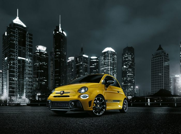 2016 Abarth 595 - Front - carwitter