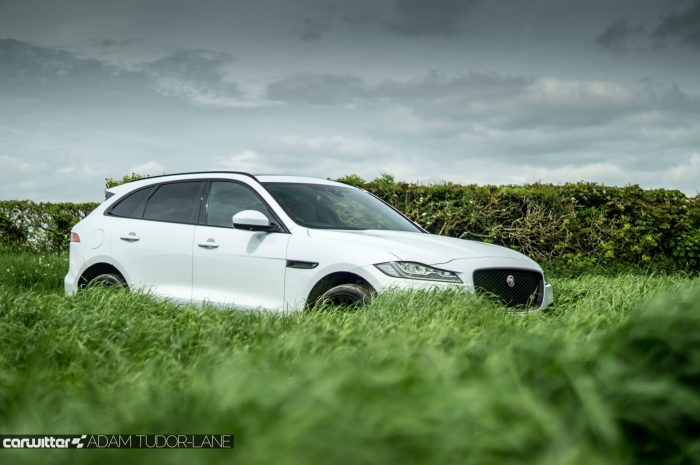 2016 Jaguar F-Pace S Diesel Review - Low Grass Scene - carwitter