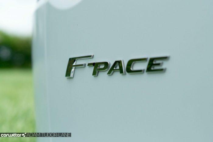 2016 Jaguar F-Pace S Diesel Review - Rear Badge - carwitter