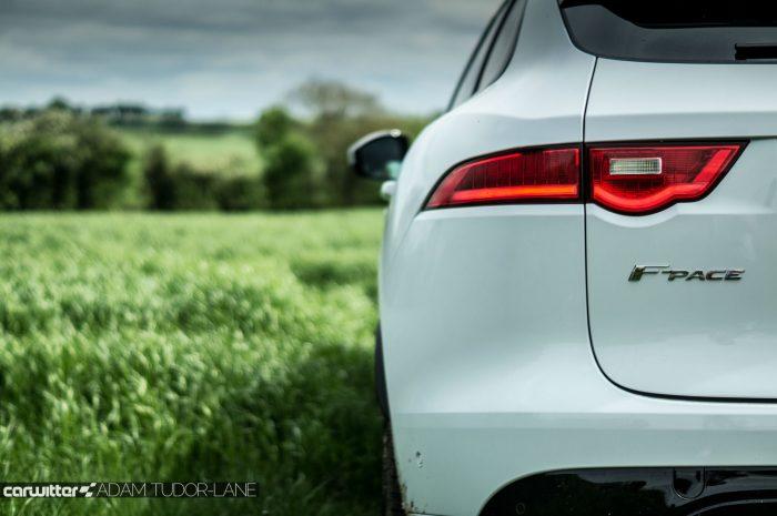 2016 Jaguar F-Pace S Diesel Review - Rear Lamp Badge - carwitter