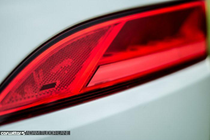 2016 Jaguar F-Pace S Diesel Review - Rear Light Detail - carwitter