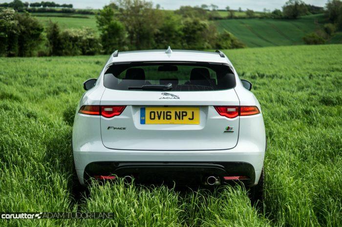 2016 Jaguar F-Pace S Diesel Review - Rear - carwitter