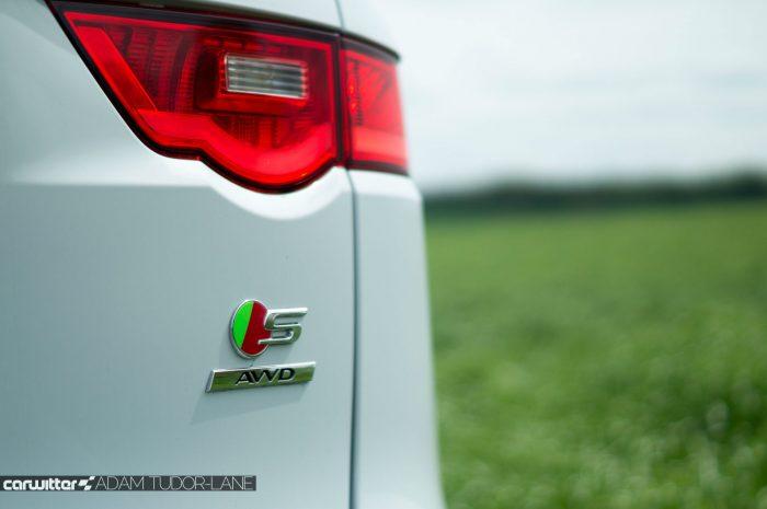 2016 Jaguar F-Pace S Diesel Review - S AWD Badge - carwitter