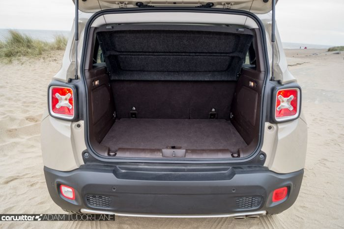 2016 Jeep Renegade Review - Boot - carwitter