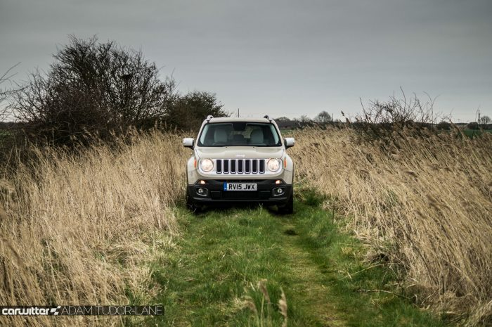 2016 Jeep Renegade Review - Field Head On - carwitter