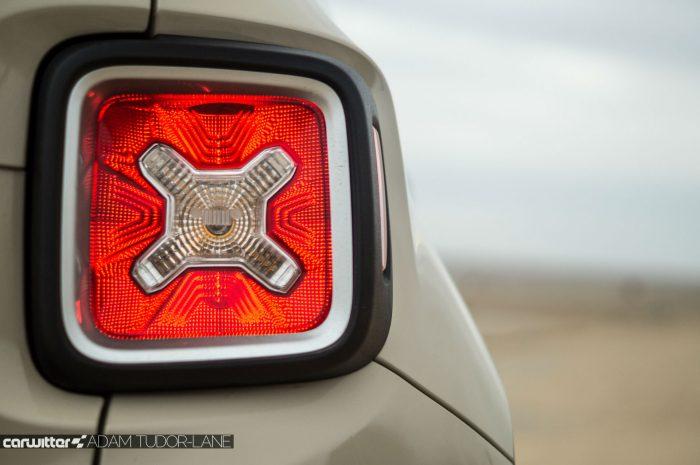 2016 Jeep Renegade Review - Rear Brake Light - carwitter