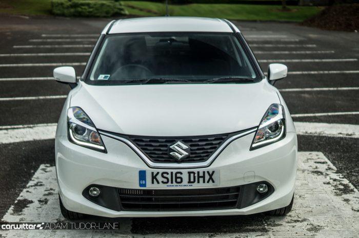 2016 Suzuki Baleno Review - Front - carwitter