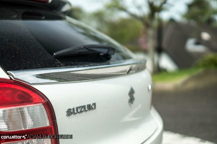 2016 Suzuki Baleno Review - Lower Spoiler - carwitter