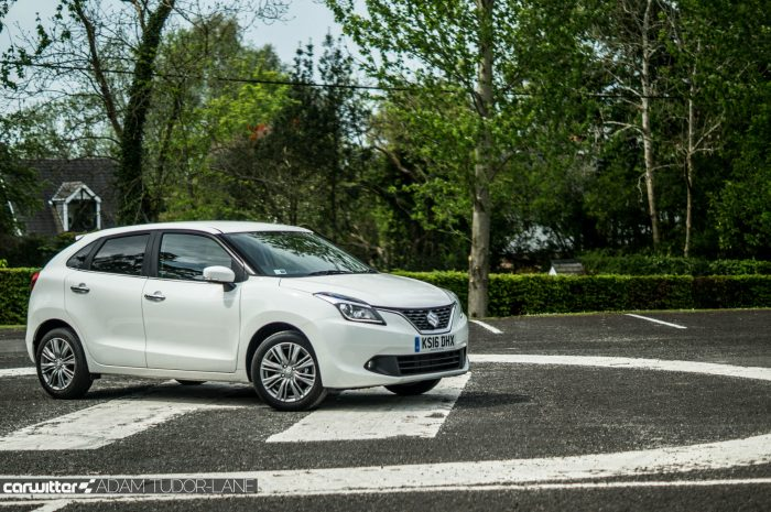 2016 Suzuki Baleno Review - Side Scene - carwitter