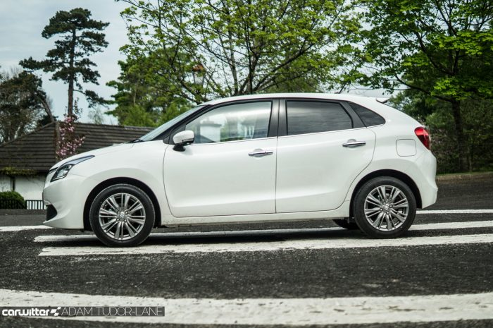 2016 Suzuki Baleno Review - Side - carwitter