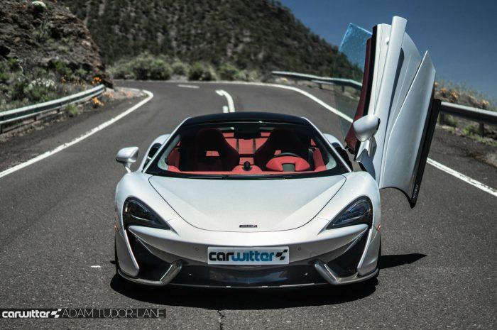 McLaren 570GT Review - Door Open Front - carwitter