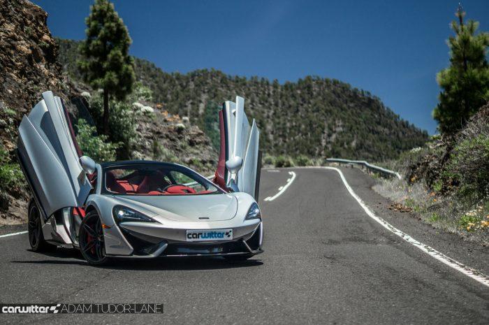 McLaren 570GT Review - Doors Up Low - carwitter