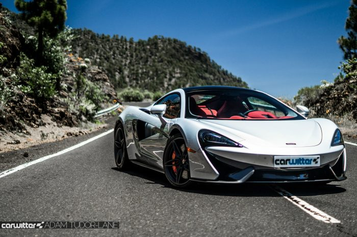 McLaren 570GT Review - Front Angle Close - carwitter