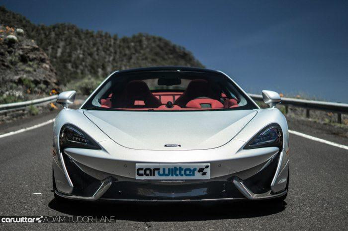 McLaren 570GT Review - Front - carwitter