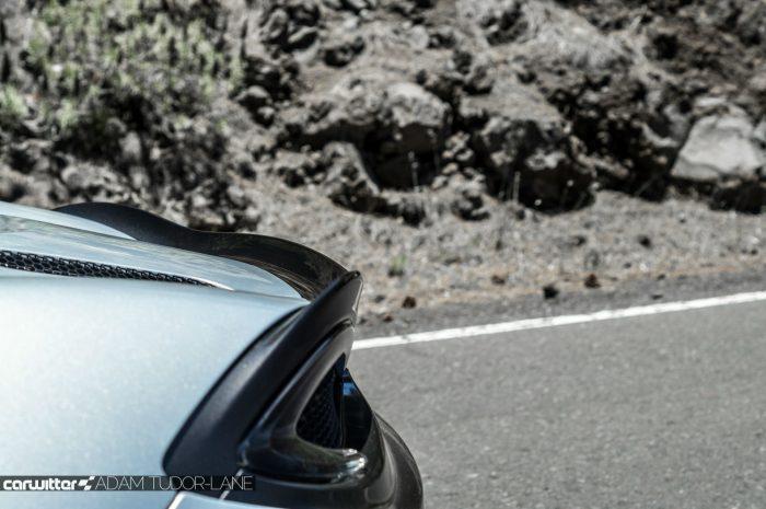 McLaren 570GT Review - Rear Spoiler - carwitter