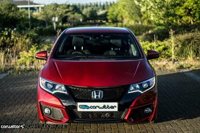2016 Honda Civic Sport Review 1.6 iDTEC - Front - carwitter