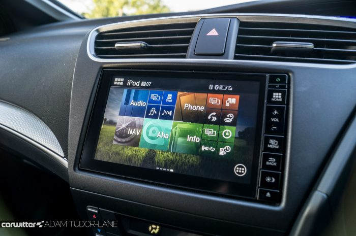 2016 Honda Civic Sport Review 1.6 iDTEC - Infotainment - carwitter