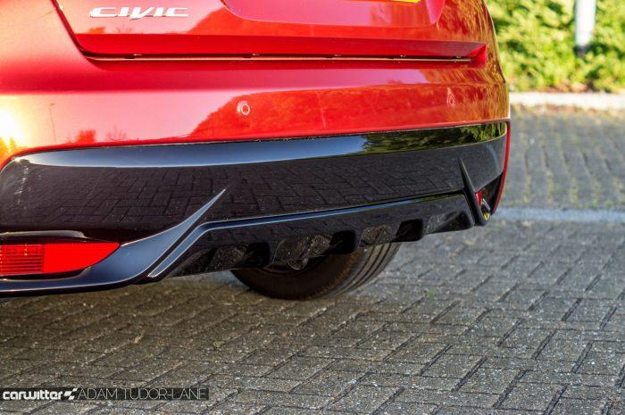 2016 Honda Civic Sport Review 1.6 iDTEC - Rear Diffuser - carwitter