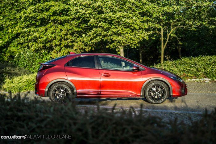 2016 Honda Civic Sport Review 1.6 iDTEC - Side - carwitter