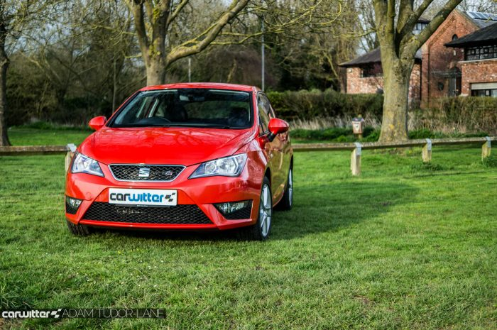 2016 SEAT Ibiza FR Review - Front Scene - carwitter