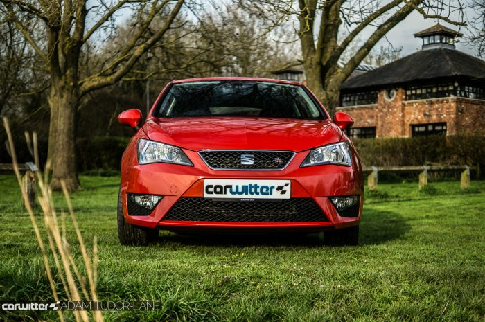 2016 SEAT Ibiza FR Review - Front - carwitter