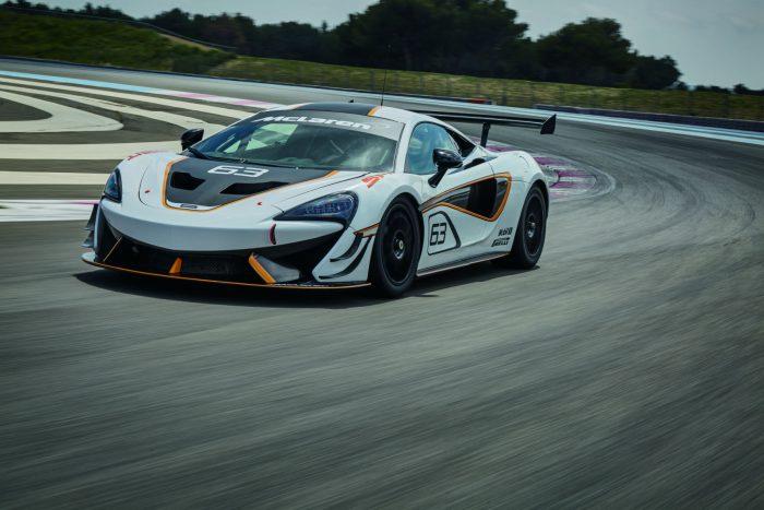 McLaren 570S Sprint - Front - carwitter