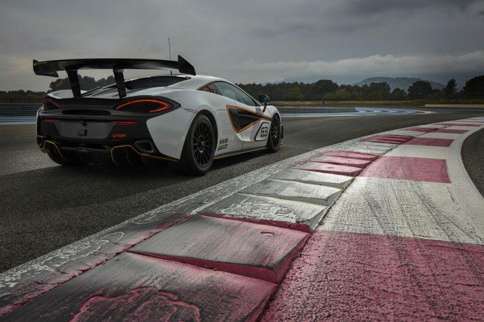 McLaren 570S Sprint - Rear - carwitter