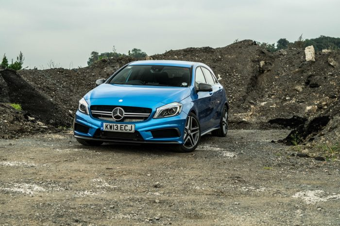 Mercedes A45 AMG - Front - carwitter
