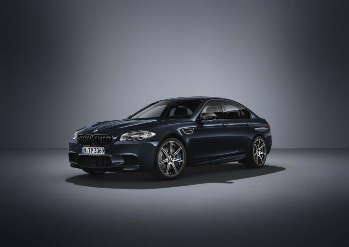 2016 BMW M5 Competition Edition Black - Front Angle - carwitter