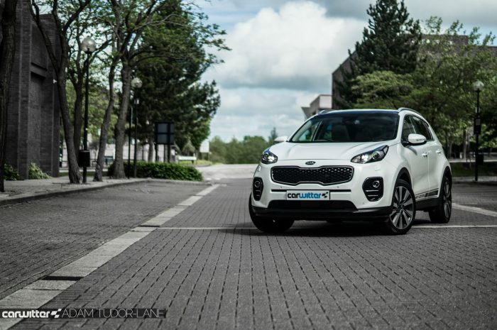 2016 Kia Sportage Review - Front Main Far - carwitter