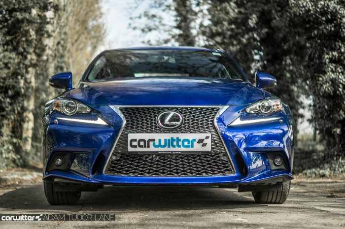 2016 Lexus is200t Review - Front Low - carwitter