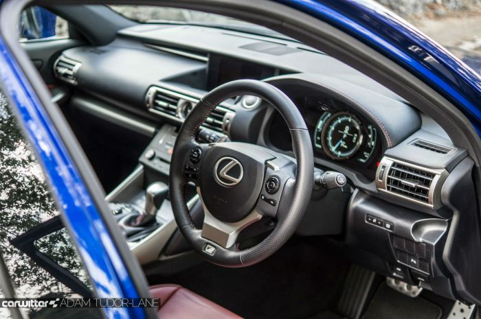 2016 Lexus is200t Review - Interior Scene - carwitter