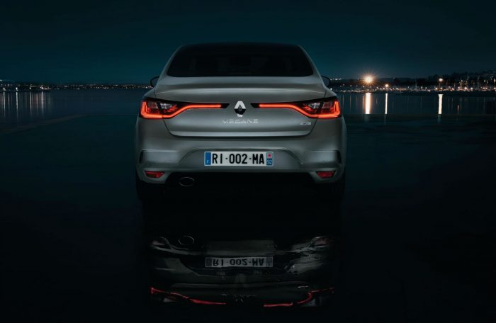 2016 Renault Megane Grand Coupe - Rear - carwitter