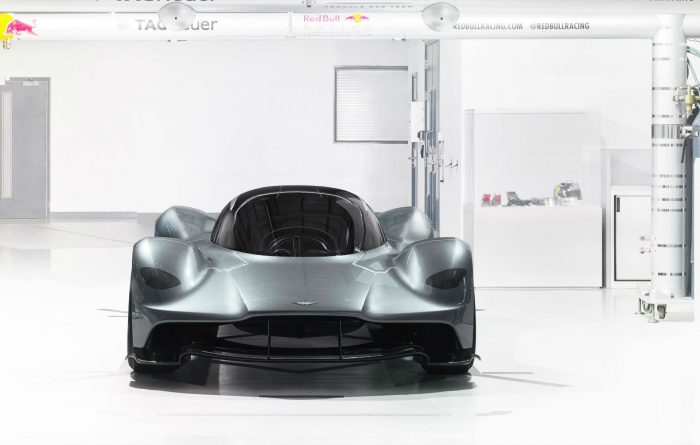 Aston Martin Red Bull Racing AM-RB 001 - Front On - carwitter
