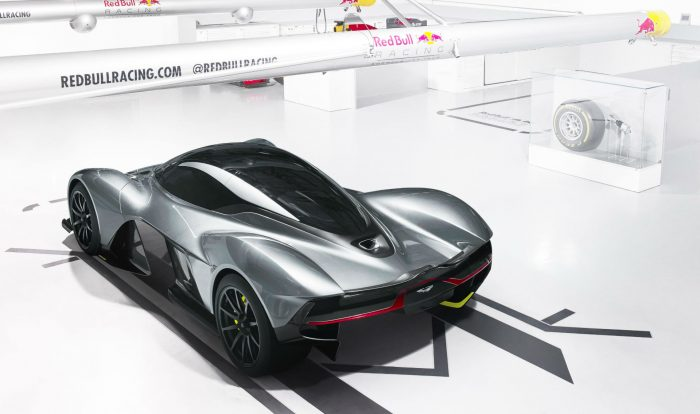 Aston Martin Red Bull Racing AM-RB 001 - Rear Angle - carwitter