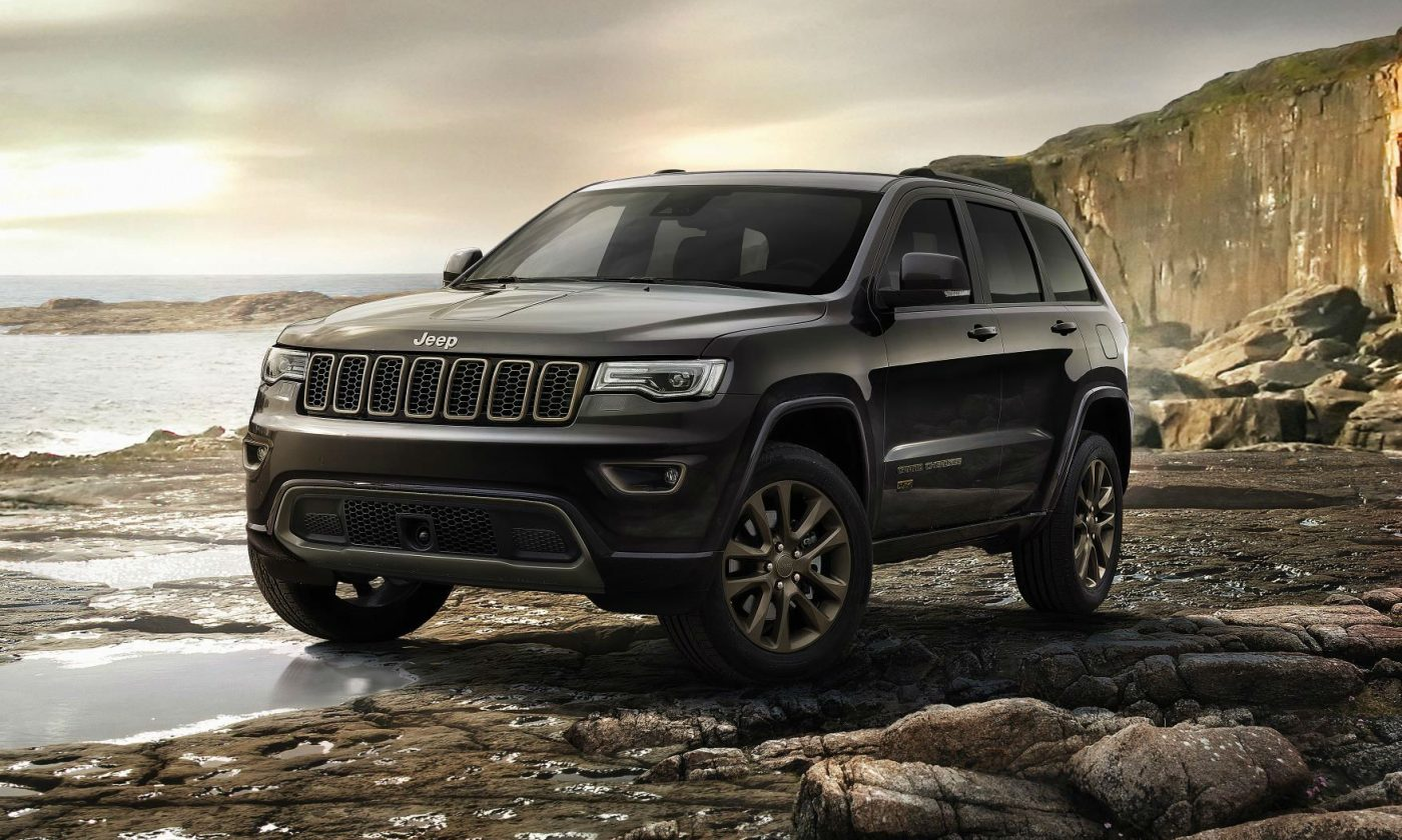 Jeep Grand Cherokee 75th Anniversary Edition 2016 carwitter 1400x840 - Grand Cherokee range gets updated with new tech - Grand Cherokee range gets updated with new tech