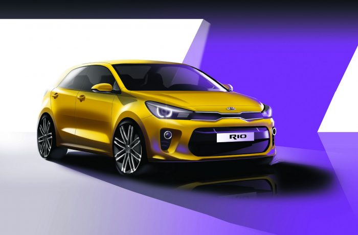 2017 4th Generation Kia Rio - Front - carwitter