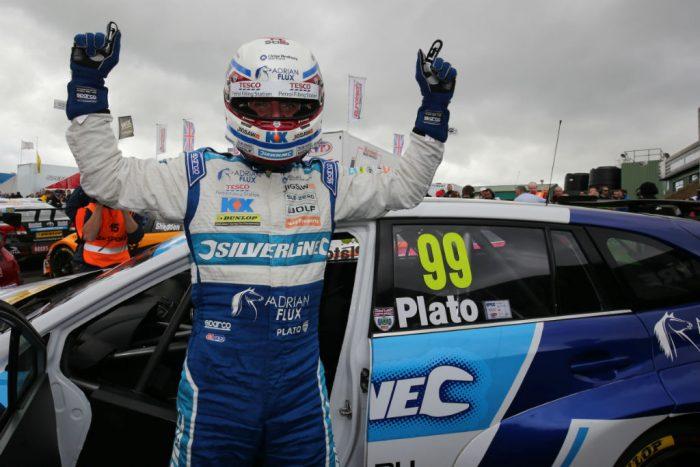 BTCC 2016 Knockhill Plato Subaru 2