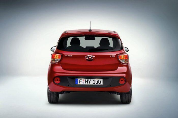 Hyundai i10 - Back