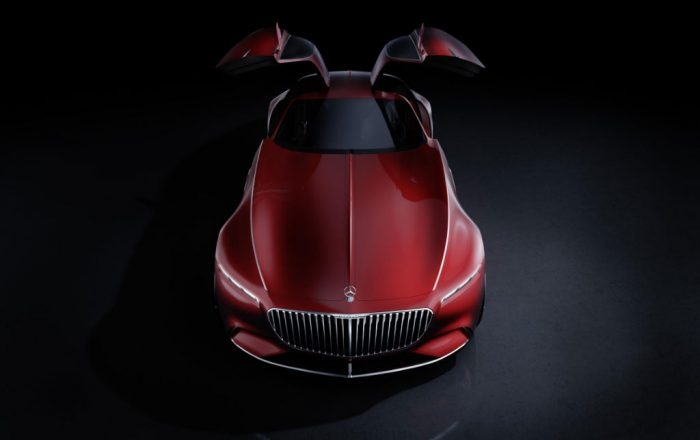Vision Mercedes-Maybach 6 - Above