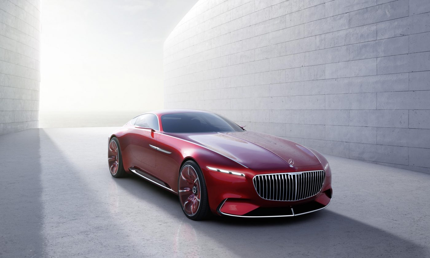 Vision Mercedes Maybach 6 Front 1400x840 - Vision Mercedes-Maybach 6 Unveiled - Vision Mercedes-Maybach 6 Unveiled