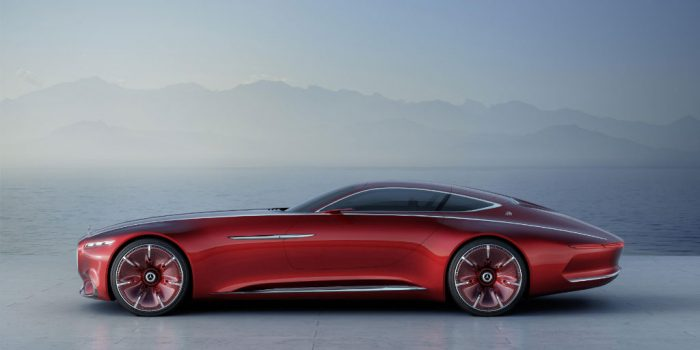 Vision Mercedes-Maybach 6 - Side