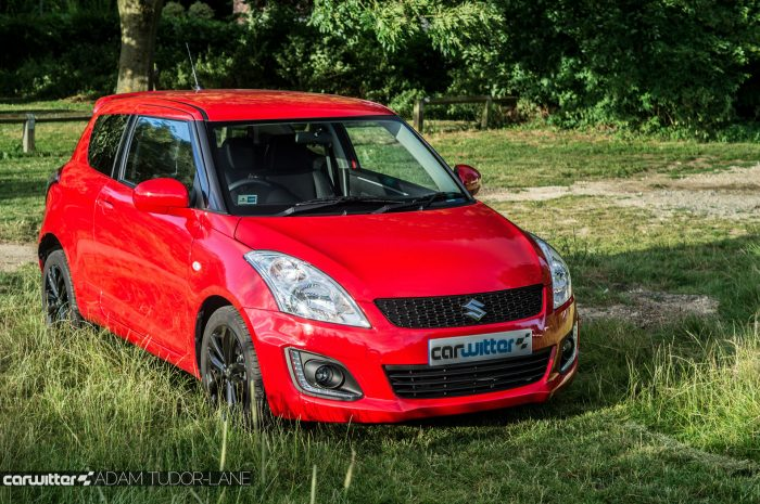 2016 Suzuki Swift SZ L Review Front Angle Carwitter 700x465 - 2016 Suzuki Swift SZL Review - 2016 Suzuki Swift SZL Review