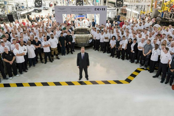 Aston Martin DB11 goes into production 3 carwitter 700x467 - Aston Martin DB11 starts production - Aston Martin DB11 starts production
